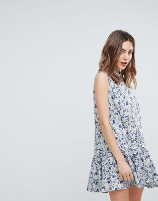 Deby Debo - July - Robe chemise à fleurs