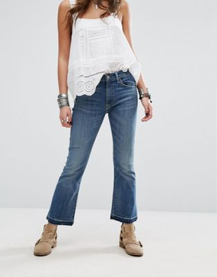 Denim & Supply By Ralph Lauren Madison Exposed Button Cropped Jeans