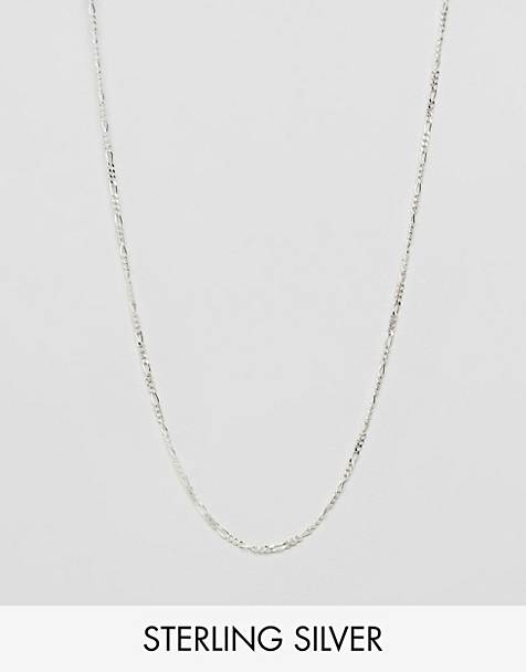 DesignB chain necklace in sterling silver exclusive to asos