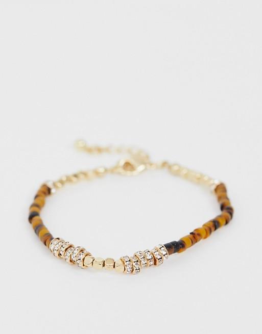 DesignB – Spräckligt armband med pärlor
