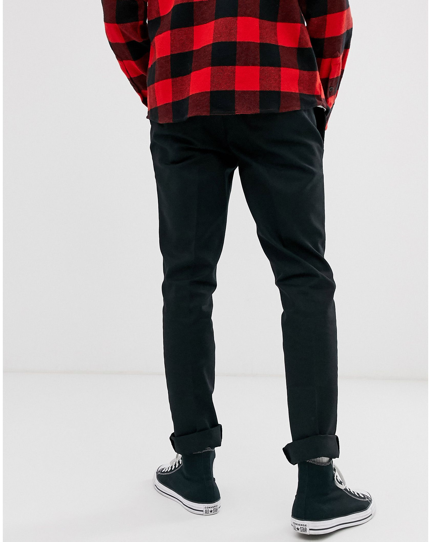 Dickies 872 slim fit work pant in black - ASOS Price Checker