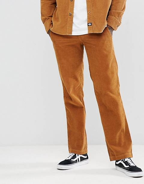 Dickies 873 cord work pant in brown