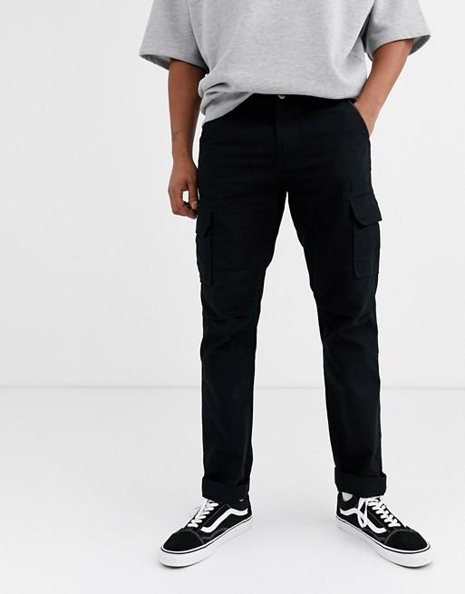 Dickies Edwardsport Cargo Pant In Black by Dickies