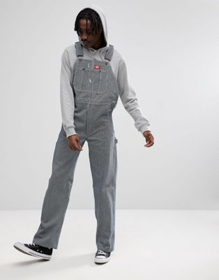 Image 1 of Dickies Hickory Stripe Dungarees