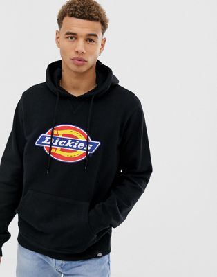 Dickies - Nevada - Sweat à capuche avec grand logo - Noir
