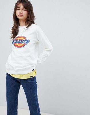 Dickies Oversized Sweatshirt With Logo Print