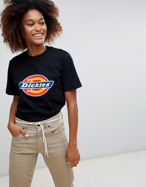 Bild 1 av Dickies – T-shirt i boyfriend-modell med logga framtill
