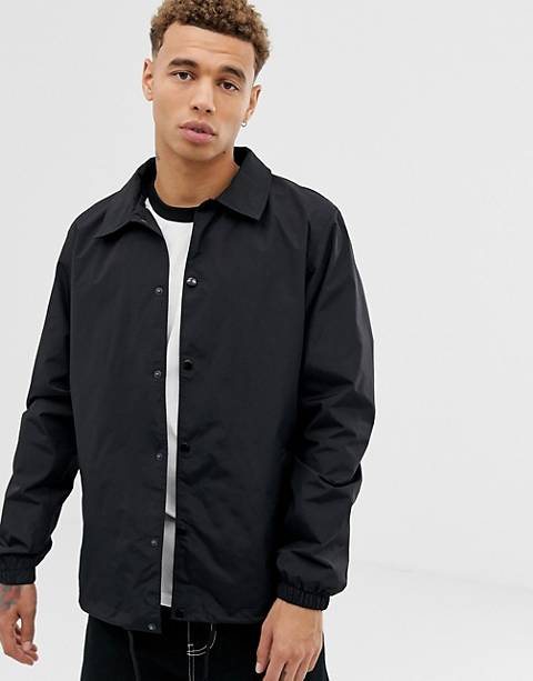 Dickies Torrance coach jacket in black