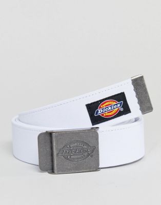 Dickies Webster Webbing Belt In White