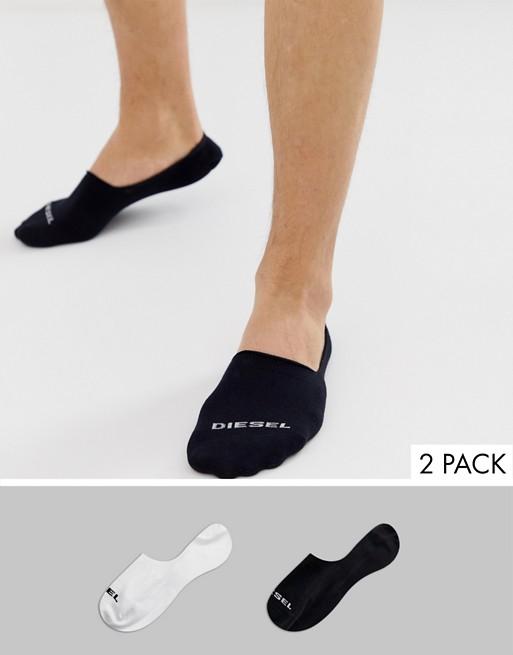 18a9e09fcbd8d1 Diesel – Bunte Sneaker-Socken mit Logo im 2er-Pack