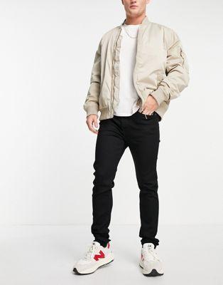 Diesel Thommer-x slim leg jeans in mid wash - ASOS Price Checker