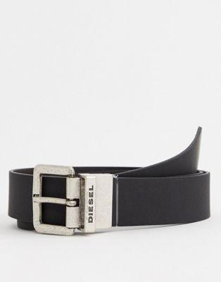 Diesel reversible belt in black/ brown