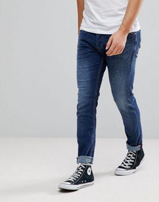 Diesel - Tepphar - Jeans in midwash