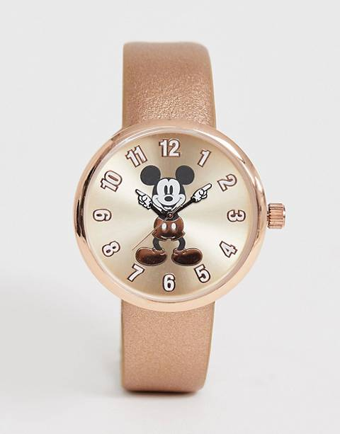 Disney mickey mouse ladies watch in rose gold