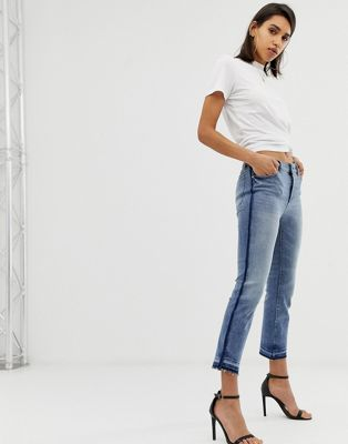 DL1961 mara ankle mid rise instasculpt straight leg jean