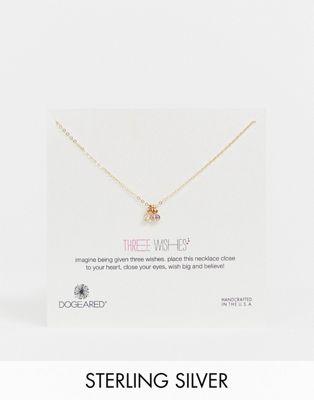Bild 1 av Dogeared – halsband med tre önskningar, monterat på presentkort