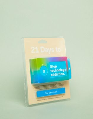 Doiy 21 Days To Stop Tech Addiction Challenge Box