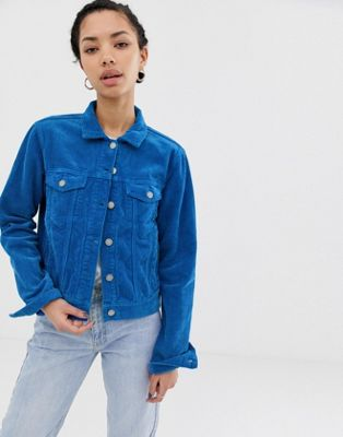 Image 1 of Dr Denim cord trucker jacket