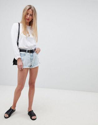Dr Denim - Jenn - Short met hoge taille