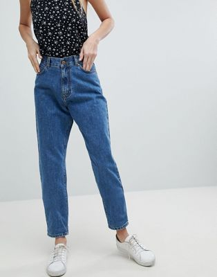 Dr Denim Nora Super High Rise Mom Jean