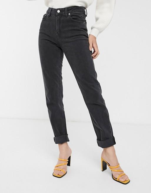 Dr Denim – Stevie – Jeans mit geradem Bein und mittelhohem Bund