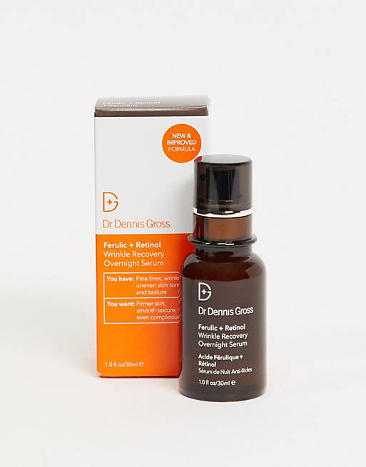 Dr Dennis Gross - Ferulic+Retinol Wrinkle RecoveryOvernight Serum
