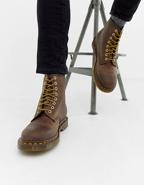 Dr Martens 1460 8-eye boots in brown