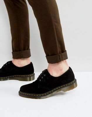 Dr Martens 1461 3 Eye Suede Shoes
