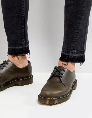 Dr Martens 1461 Washed Leather 3 Eye Shoes