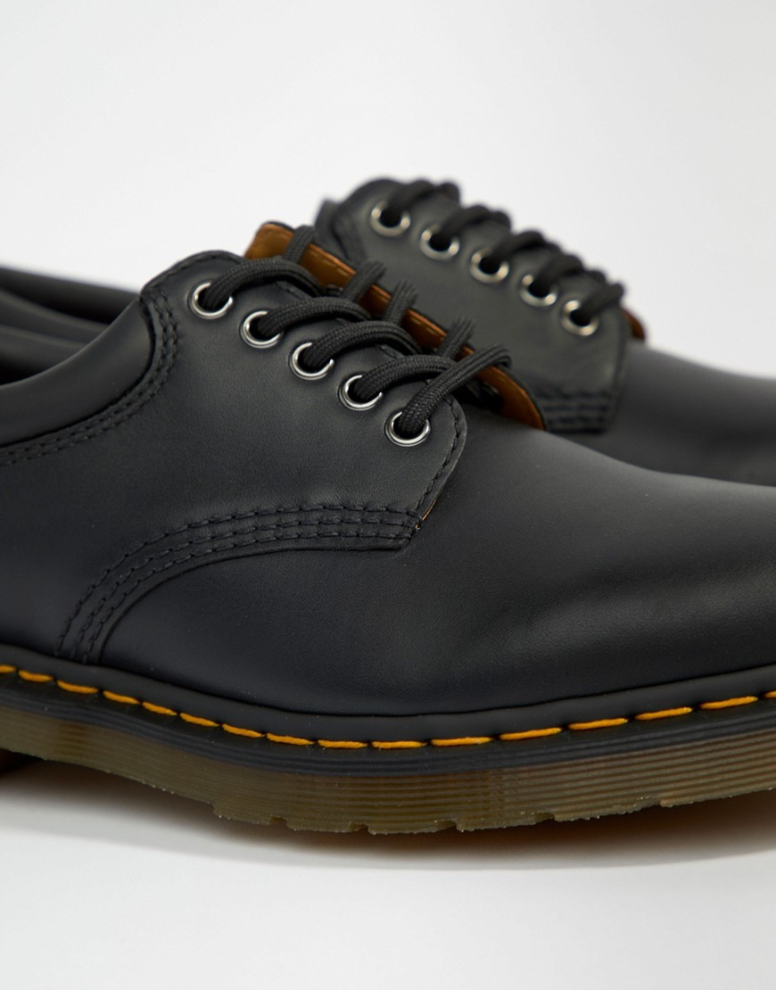Dr Martens 8053 Shoes In Black by Dr Martens