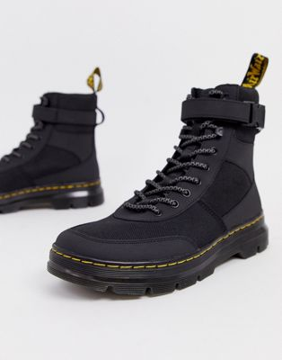 Dr Martens – Combs Tech – Schwarze Stiefel