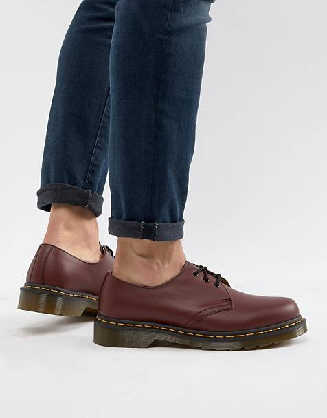 Dr Martens original 3-eye shoes in red 11838600