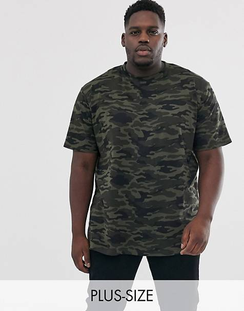 Duke – King Size – T-Shirt mit Military-Muster
