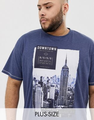 Duke King Size t-shirt with downtown NY print