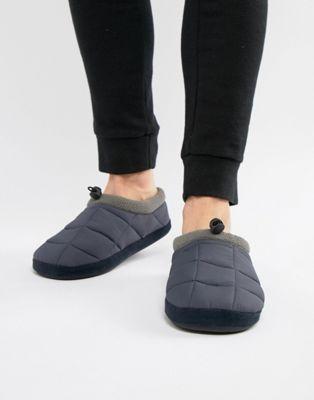 Dunlop - Chaussons doublés de polaire matelassés