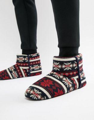 Dunlop - Pantoffels met Fairislemotief