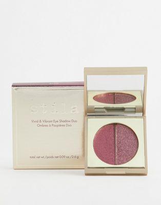 Двухцветные тени для век Stila Vivid & Vibrant - Garnet