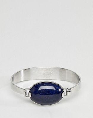 Dyrberg/Kern delaney blue stone bracelet