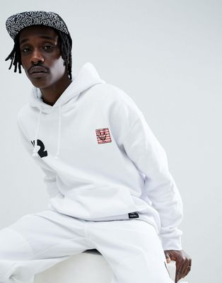 Image 1 of Element x Keith Haring hoodie in white