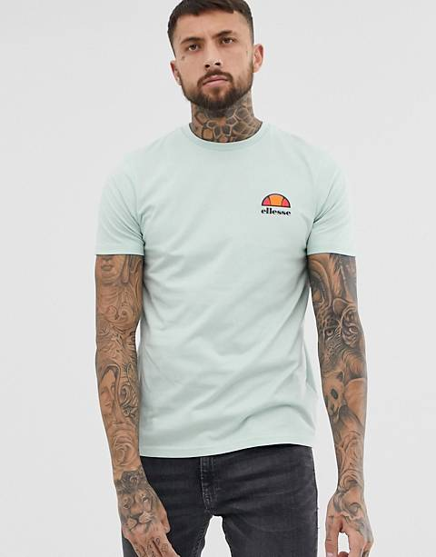 ellesse Canaletto t-shirt with small logo in green