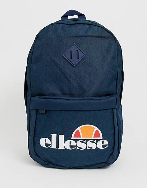 ellesse Duel backpack with logo in navy