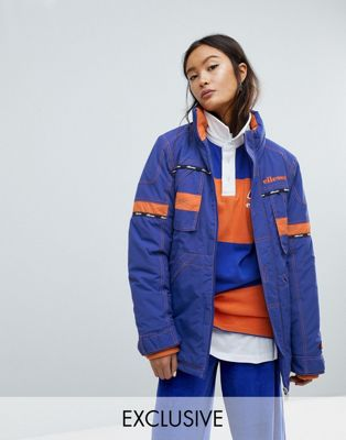 Ellesse Ski Parka With Contrast Stitch