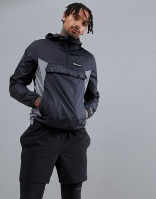ellesse Sport - Overhead jack in zwart
