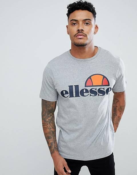 ellesse - T-shirt avec logo classique - Gris