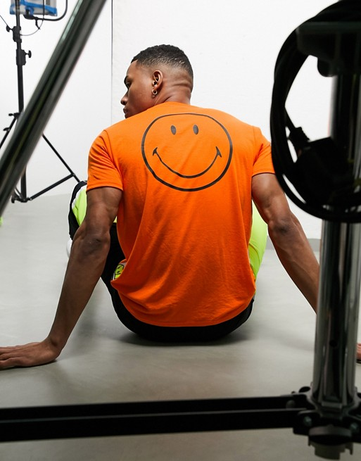 Ellesse X Smiley – Rapallo Neonorange T-shirt