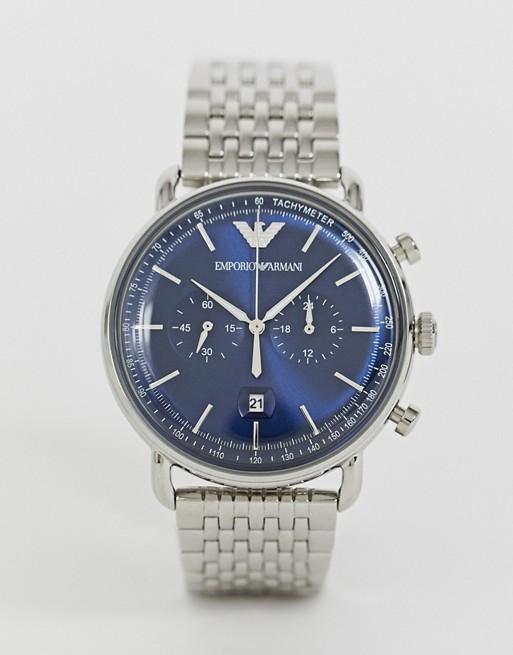 Emporio Armani AR11238 Aviator bracelet watch 43mm