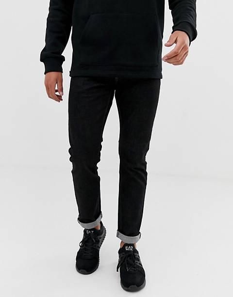Emporio Armani - J06 - Jeans slim nero slavato