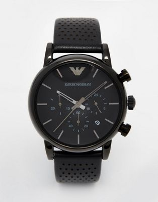 Emporio Armani Watch AR1737 Watch In Black