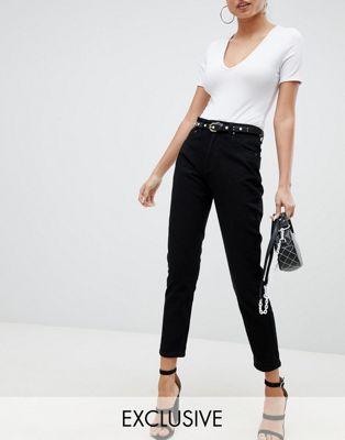 Immagine 1 di Esclusiva PrettyLittleThing - Jeans dritti