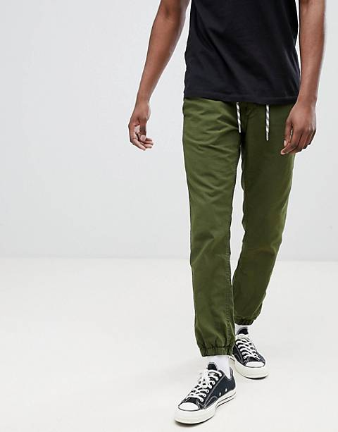 Esprit Chino Jogger with Cuffed Hem